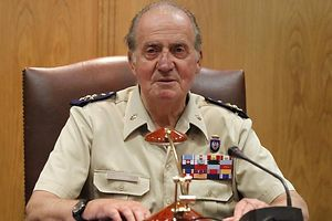 König Juan Carlos ist gefallen.