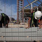 Produção no setor da construção com tendência a abrandar
