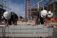 Das Baugewerbe verbessert sich im dritten Quartal um 26,4 Prozent.