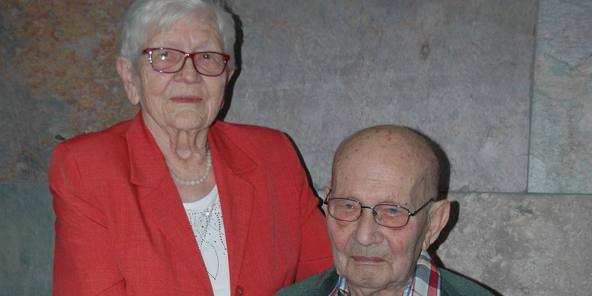 Auch nach fast sieben Jahrzehnten sind Margot und Camille Funck-Remy unzertrennlich.
