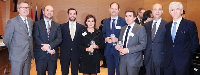 Montag Abend bei der Preisüberreichung des Export-Awards in der Handelskammer. (Foto: Anouk Antony)