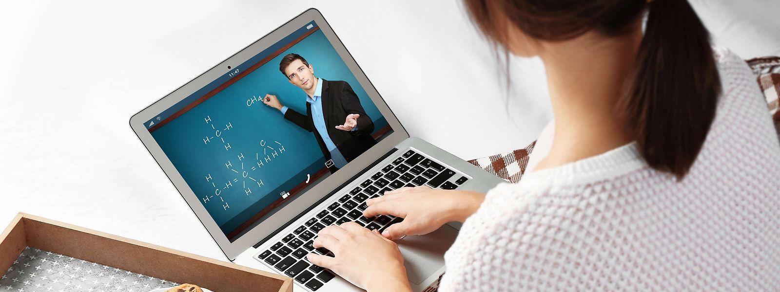 Laborieux au début, l'e-learning s'est considérablement amélioré au cours des trois derniers mois.