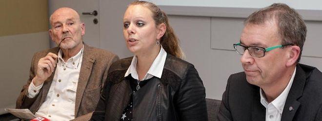 Bei der Vorstellung der lang erwarteten Studie (v.l.n.r.): Finanzwissenschaftler Dieter Ewringmann, Umweltministerin Carole Dieschbourg, Staatssekretär Camille Gira.
