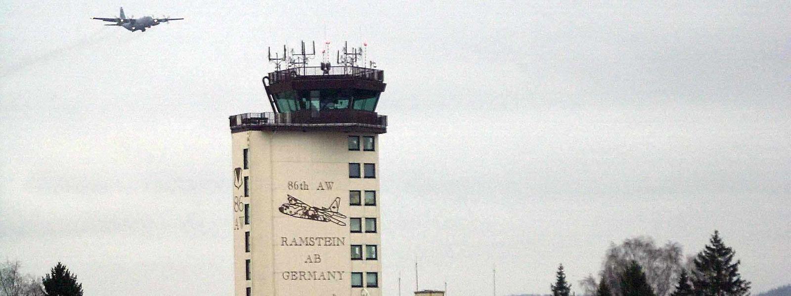 Die Ramstein Airbase bei Kaiserslautern ist der größte Auslandsstützpunkt der US-amerikanischen Streitkräfte.