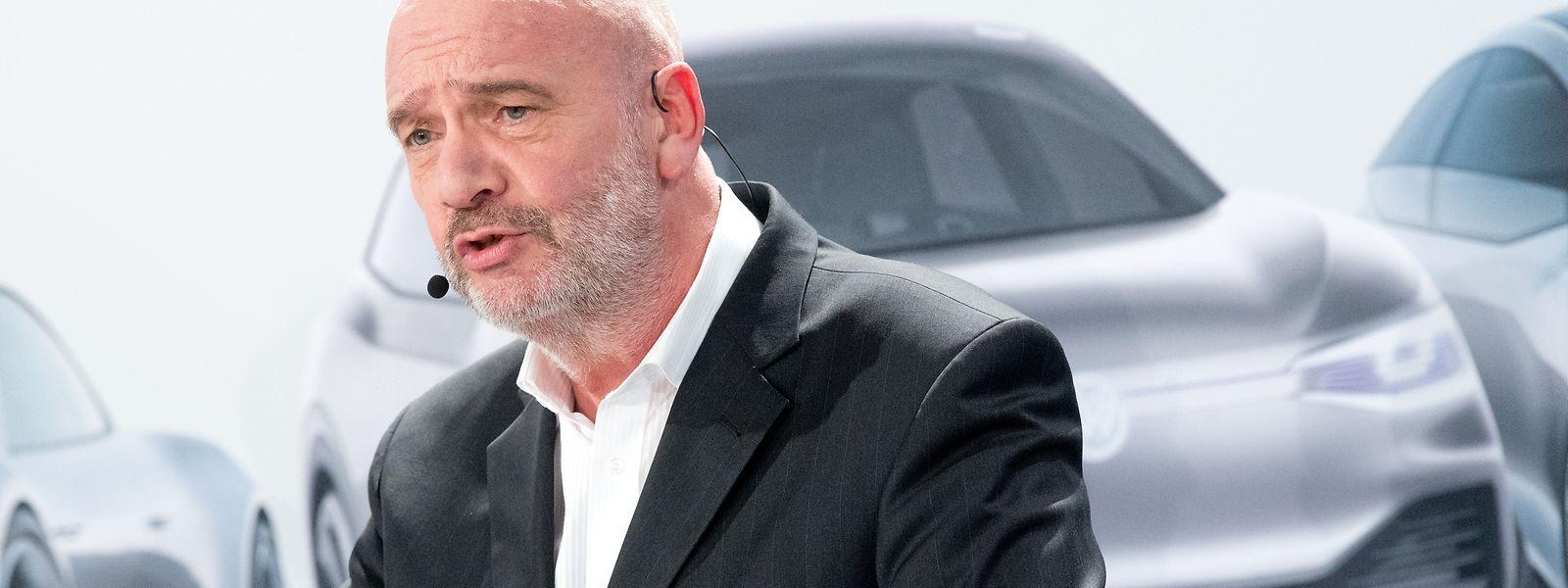 Bernd Osterloh, Betriebsratsvorsitzender der Volkswagen AG.