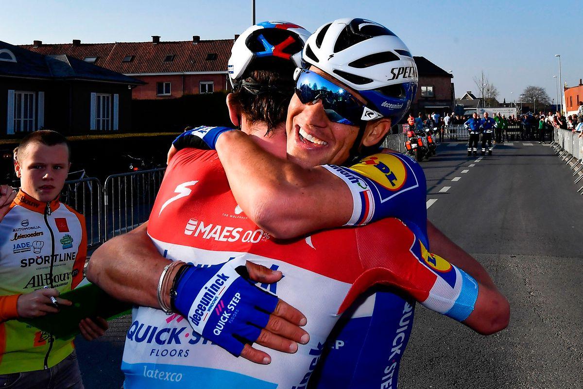Zdenek Stybar oder Bob Jungels? Beide können die Tour des Flandres gewinnen.