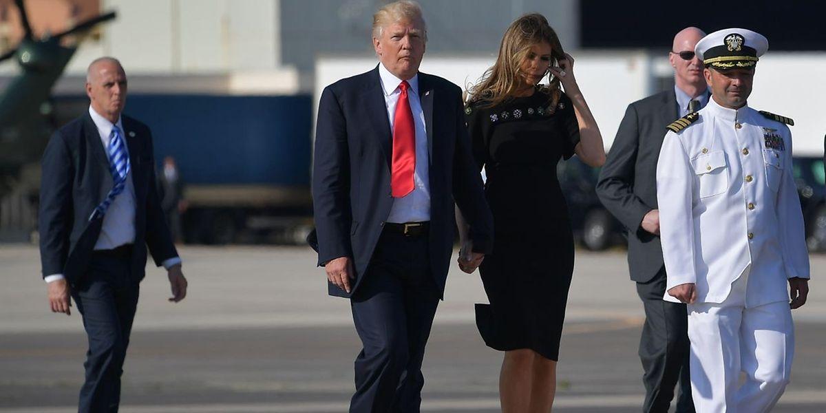 Nach seiner ersten Auslandsreise erwartet Trump daheim wieder ein aufgeheiztes Klima.
