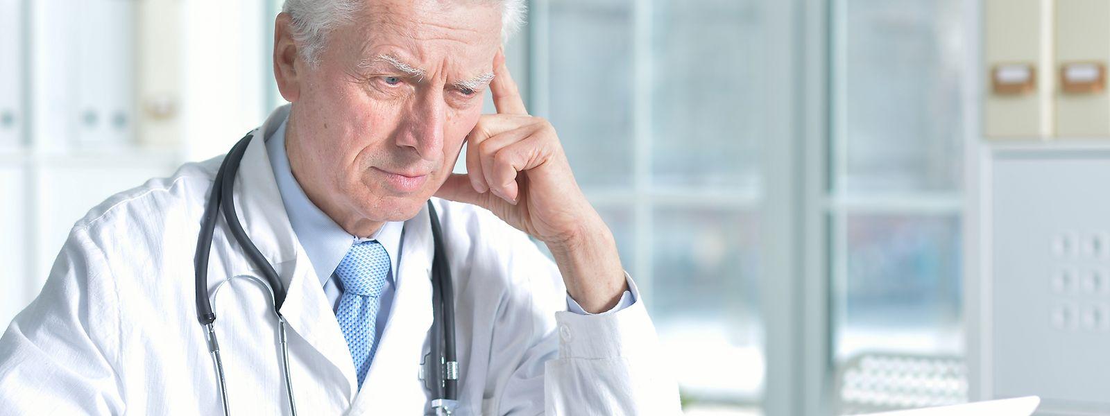 Actuellement, plus de la moitié des médecins du pays sont âgés de 55 ans ou plus