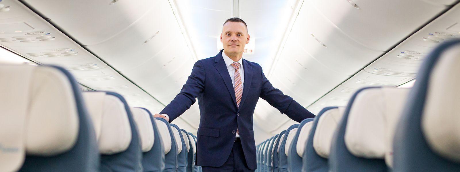 «Affirmer que les anciens modèles fonctionneront toujours, je n'y crois pas», avance Gilles Feith, nouveau directeur général de Luxair Group.