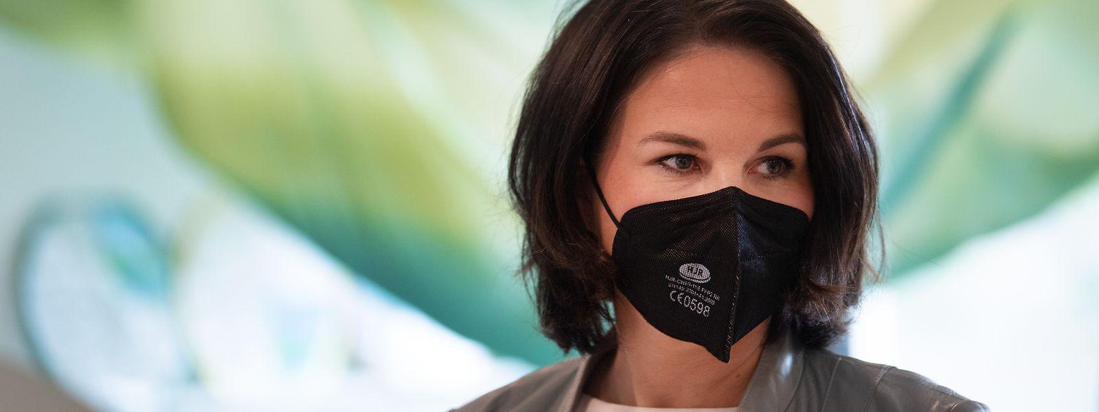 Die grüne Kanzlerkandidatin Annalena Baerbock muss mit Zwist in den eigenen Reihen umgehen.