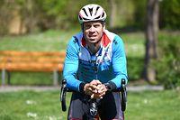 Christian Krombach, Président de la Fédération Luxembourgeoise de Triathlon. Merl. Foto: Stéphane Guillaume