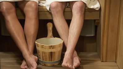 A trip to the sauna is a key component of a traditional Finnish Christmas