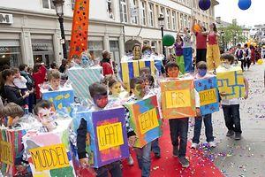 O desfile das crianças na cidade do Luxemburgo é uma das propostas do CONTACTO para este fim-de-semana
