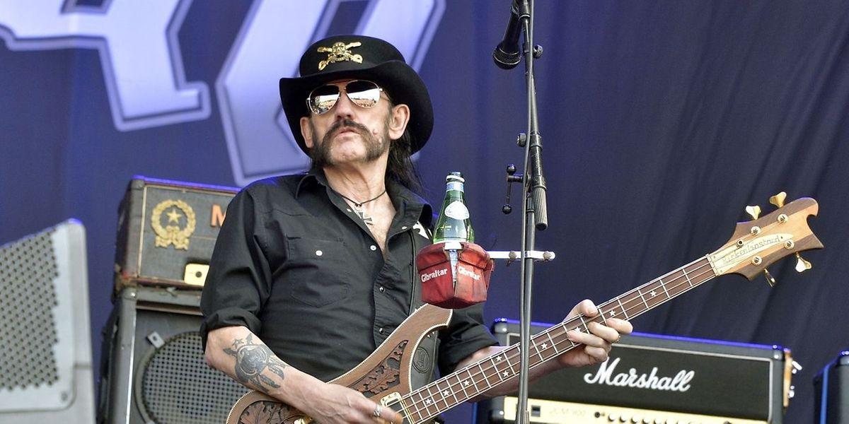 Motörhead-Sänger Lemmy Kilmister stand noch im Sommer auf der Bühne.