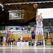 Freiwurf Annick Neiertz (Etzella Ettelbrueck #12) / Basketball Lalux Ladies Cup, Pokal, Saison 2017-2018, Halbfinale / 28.01.2018 /Etzella Ettelbrück - AB Contern / Coque - Gymnase, Luxemburg /Foto: Ben Majerus