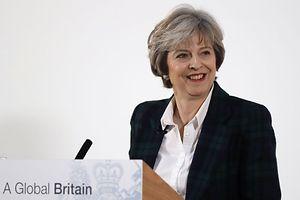 «Le Royaume-Uni ne peut pas continuer à faire partie du marché unique», a affirmé Mme May en dévoilant ses priorités pour les négociations à venir.