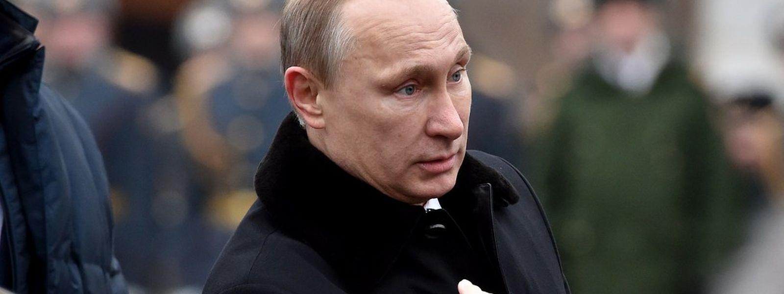 Putin sieht Anzeichen dafür, dass durch die Verhandlungen in Minsk allmählich wieder Vertrauen zwischen Russland, Deutschland und Frankreich entstehe.