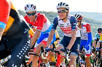 Kevin Geniets (L/Groupama) und Michel Ries (L/Trek) - Skoda Tour de Luxembourg 2020 - 3.Etappe Rosport/Schifflange 164,3 Km - Foto: Serge Waldbillig