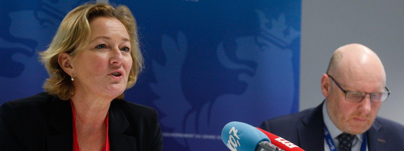 La ministre de la Protection des consommateurs, Paulette Lenert annonce qu'une première campagne d'information sur le système nutriscore «débutera dans le courant du printemps».