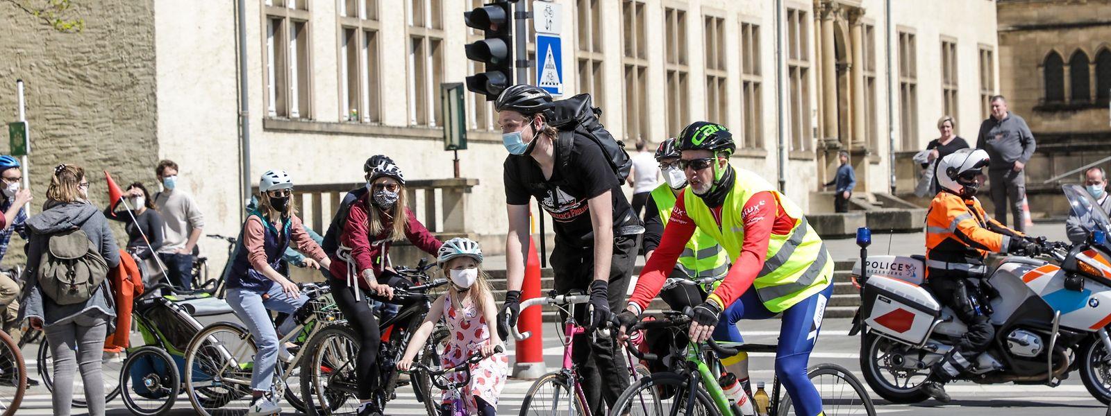 Die Fahrradfahrer wollen bei der Verkehrsplanung der Hauptstadt stärker berücksichtigt werden.