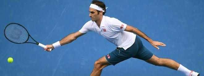 Roger Federer a souffert dans les deux premiers sets avant de dérouler dans la dernière manche.