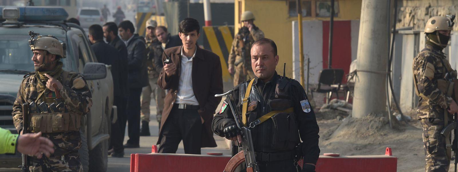 Der Anschlag in Kabul soll einer afghanischen Geheimdiensteinrichtung gegolten haben.