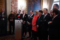 Politik, chambre des députés, nouvel an, NA,   Foto: Anouk Antony/Luxemburger Wort