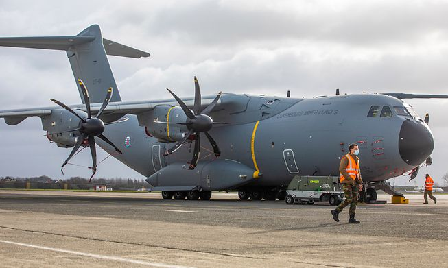 Luxembourg's A400M new transport plane is expected to be used for a coming rescue mission in Afghanistan