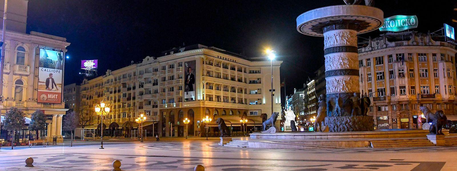 Im nordmazedonischen Skopje freut man sich auf die Brüsseler Entscheidung.