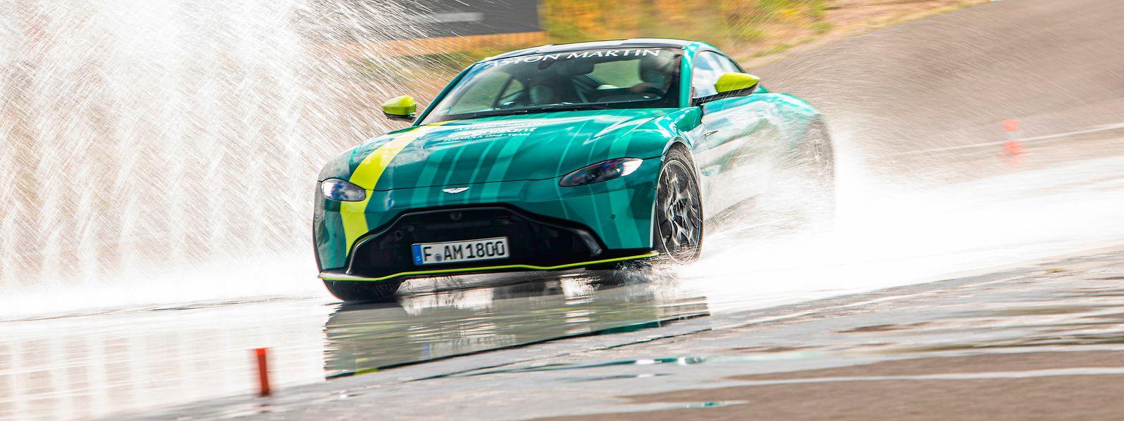 Der Aston Martin Vantage ist kein Schnäppchen: Der Wagen kostet rund 150.000 Euro.