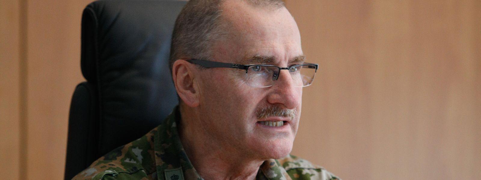 Seit September 2017 steht Alain Duschène an der Spitze der luxemburgischen Armee.