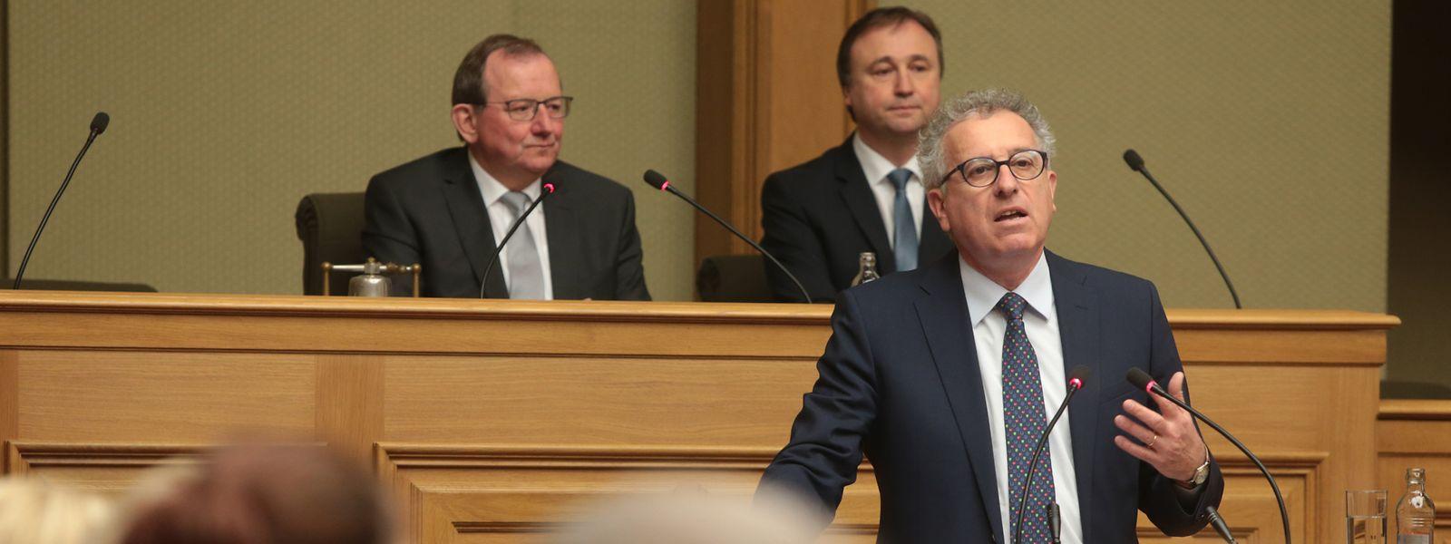 Pierre Gramegna weihte die Chamber am Dienstag in seine Budget-Pläne für 2019 ein.