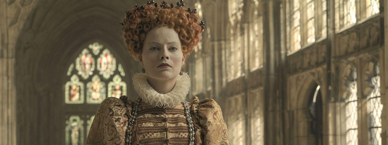 So selbstsicher, wie sie sich gibt, ist Königin Elisabeth I. (Margot Robbie) nicht.