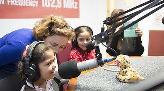 The Kids' Breakfast Take Over at ARA City Radio / Foto: Steve EASTWOOD