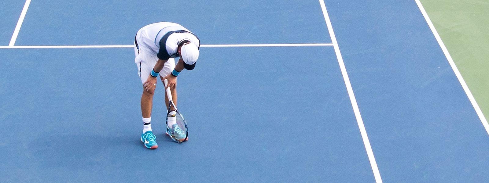 Gilles Muller lieferte seinem Gegner in seinem letzten Spiel einen großen Kampf.