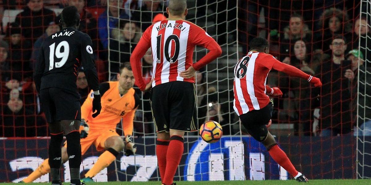 L'incontournable Jermain Defoe a inscrit deux penalties pour Sunderland.