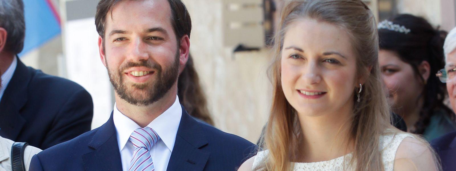 Erbgroßherzog Guillaume und Gattin Stéphanie stehen einer Wirtschaftsmission in Brasilien vor.