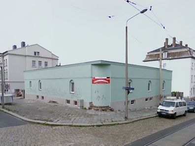 Diese Moschee in der Hühndorfer Straße war im Visier der Täter.