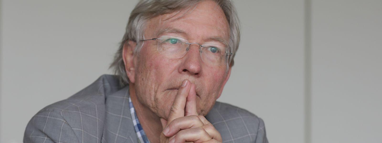 Leitete zehn Jahre die Universität Luxemburg: Rolf Tarrach.