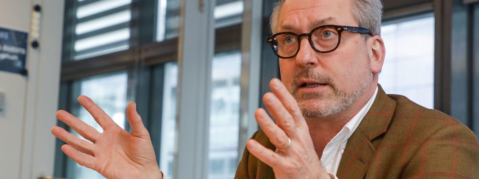 Au nom du Groupement des entrepreneurs, Pol Faber plaide pour une révision des règles de paiement d'acompte sur révision pour les entreprises de la construction.