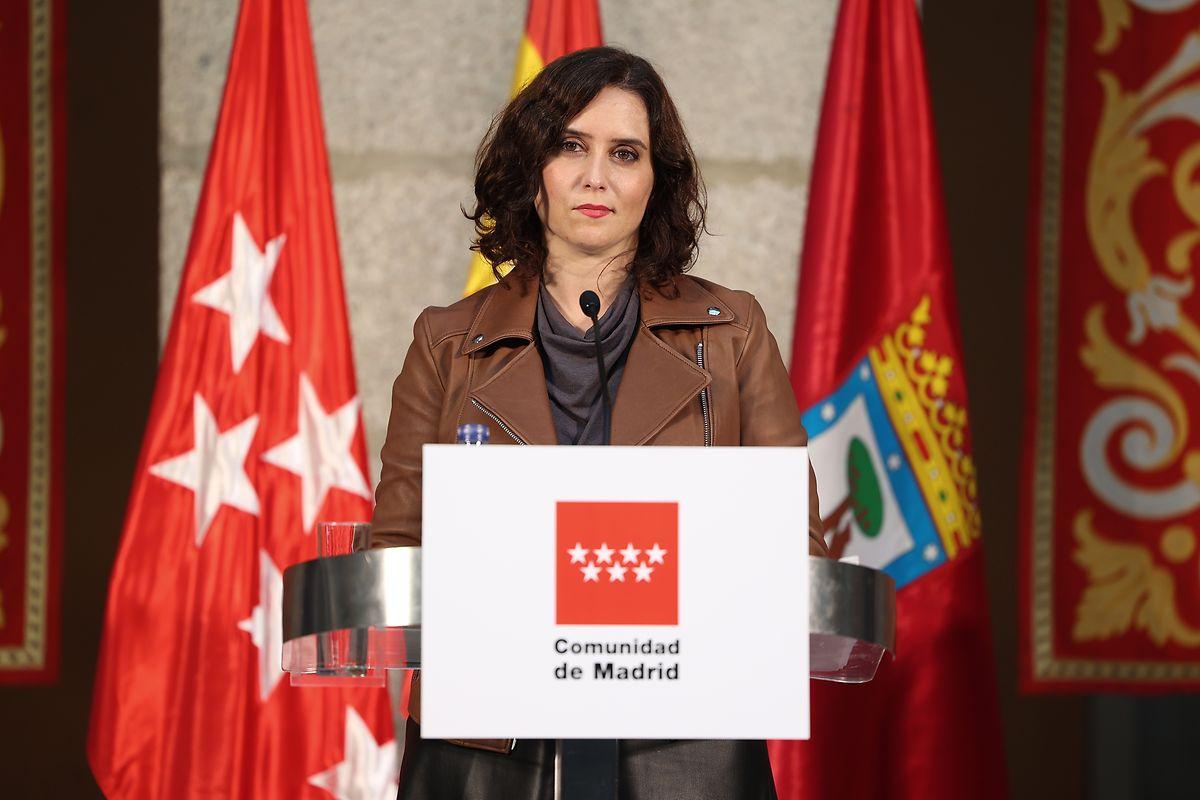 Isabel Díaz Ayuso, die Regionalpräsidentin von Madrid, gilt als Hoffnungsträgerin der konservativen Volkspartei (PP).