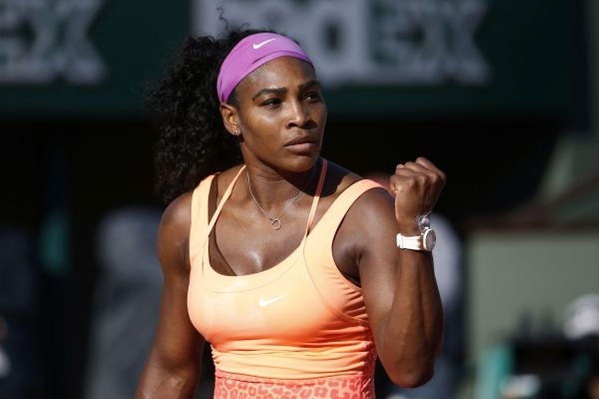 Toute la détermination de l'Américaine Serena Williams