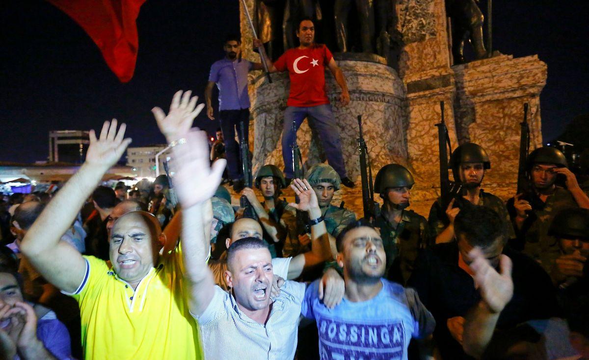 Noch ist in der Türkei oft unklar, wer auf welcher Seite steht.