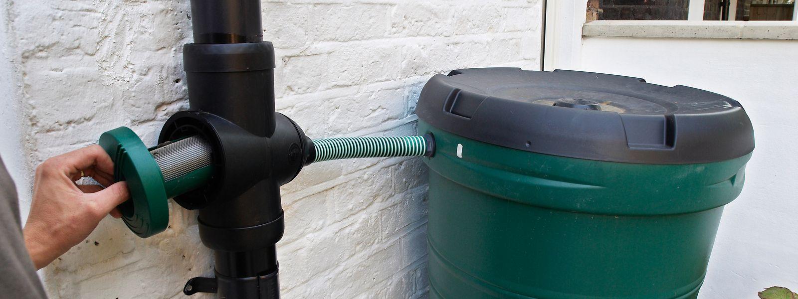 Nombre d'installations publiques ont choisi de récupérer l'eau de pluie pour en faire bon usage.