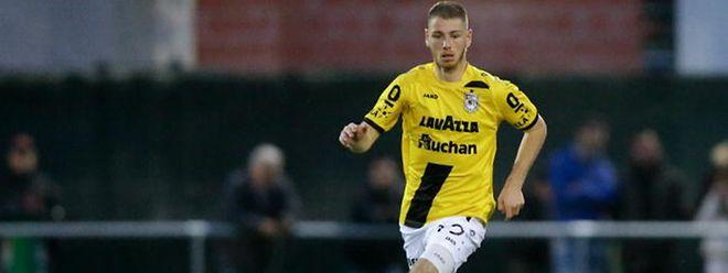 Leon Jensen a inscrit trois buts cette saison sous le maillot dudelangeois.