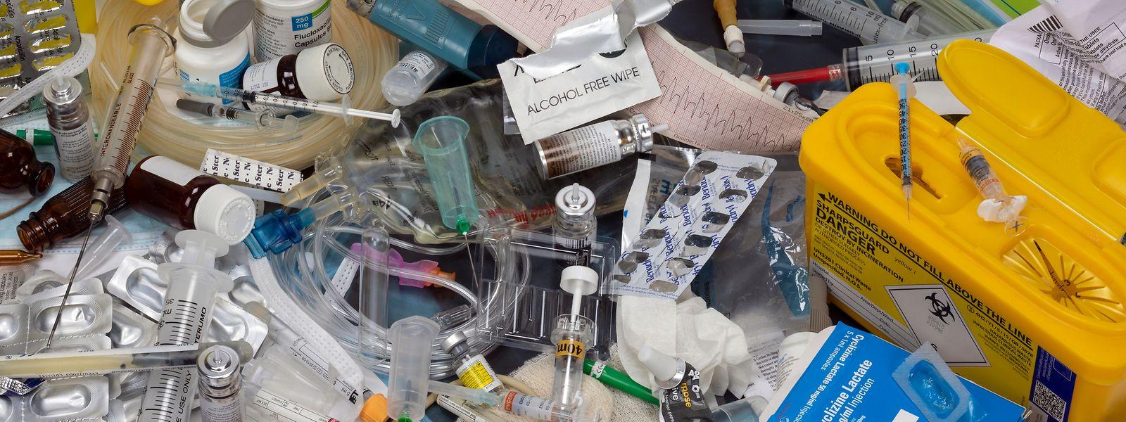Le pays ne peut actuellement pas éliminer sur son territoire ses 600 tonnes de déchets médicaux.