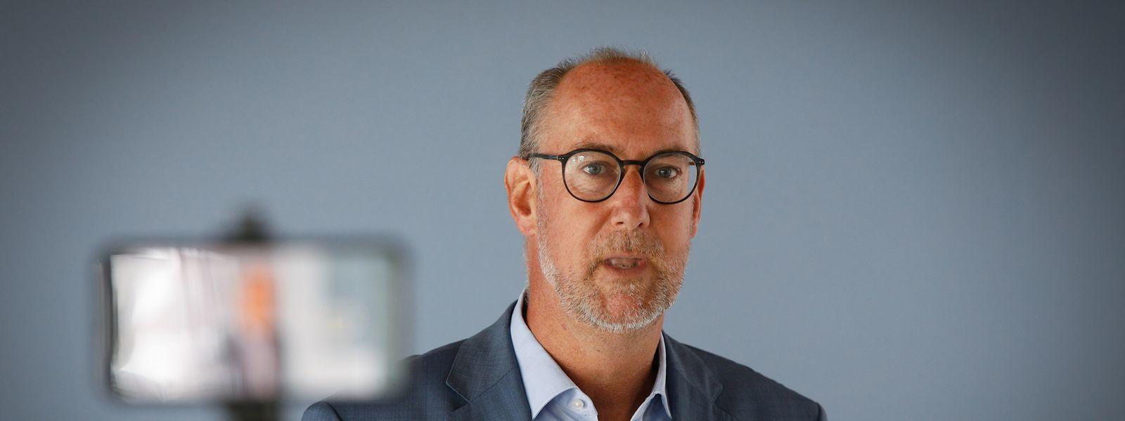 Gilles Baum steht seit Januar an der Spitze der DP-Fraktion.