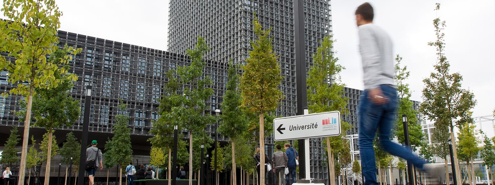 Neben Brüssel ist auch die Universität Luxemburg bei den Psychologie-Studenten beliebt.