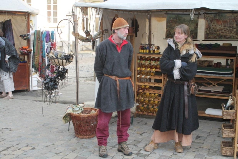 Der Mittelaltermarkt in Echternach.