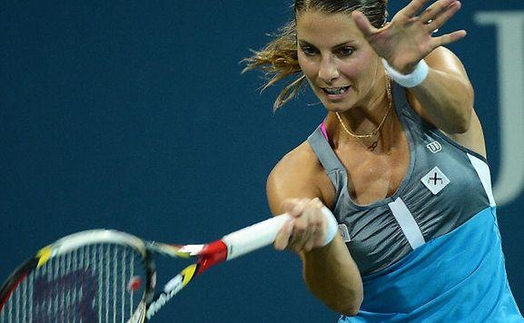 Mandy Minella a franchi le premier tour à Guangzhou.